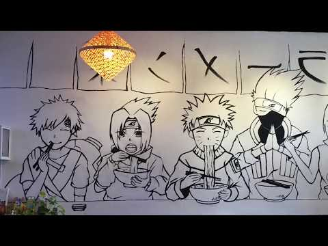 My Visit To A Naruto Themed Ramen Place In El Monte
