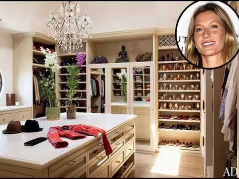 Celebrity Walk In Closets