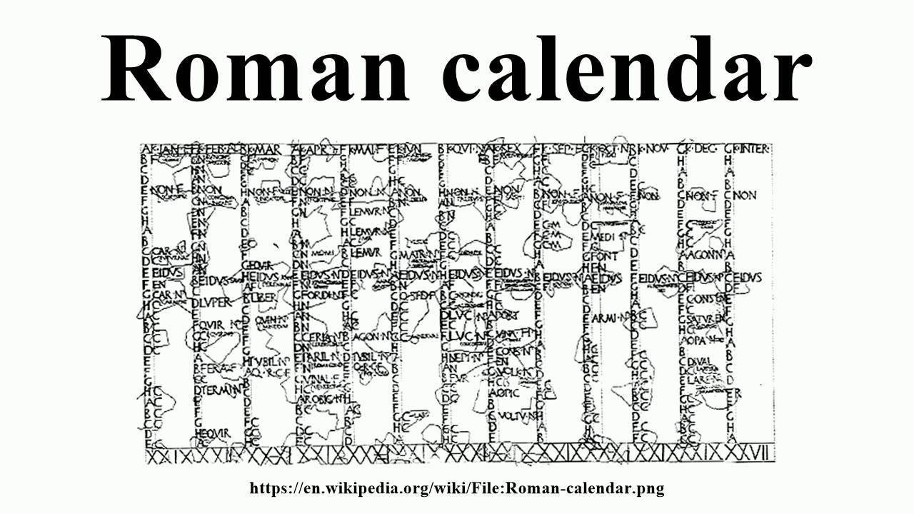 History of calendars