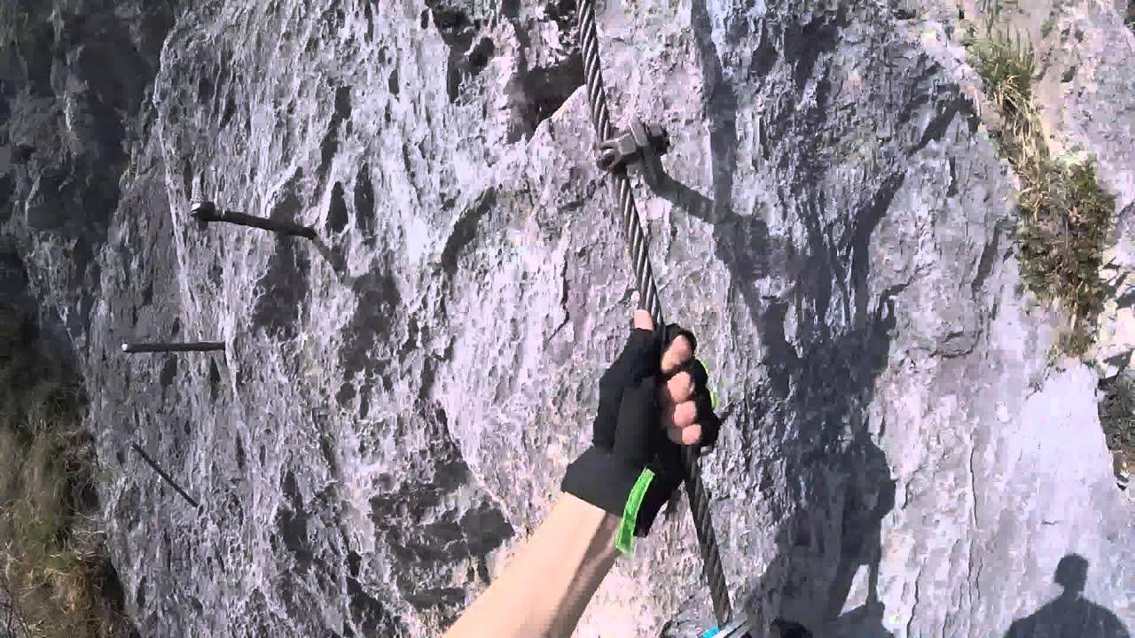 Kaiser Max Klettersteig : Kaiser max klettersteig via ferrata martinswand sektion i