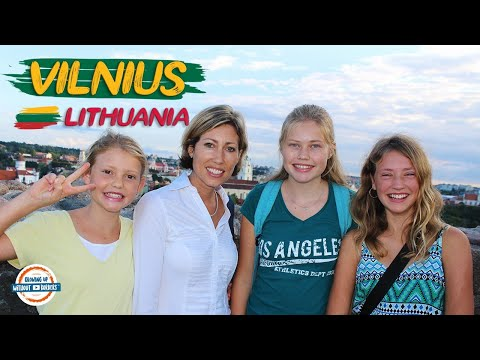 Vilnius Travel Guide - 48 Hours in the Capital of Lithuania | 90+ Countries With 3 Kids