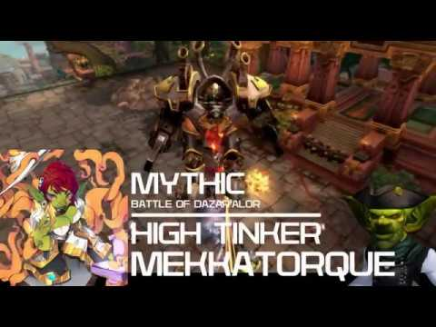 Disambiguation - Mythic Battle of Dazar'alor - High Tinker Mekkatorque [FEAT. LIG]