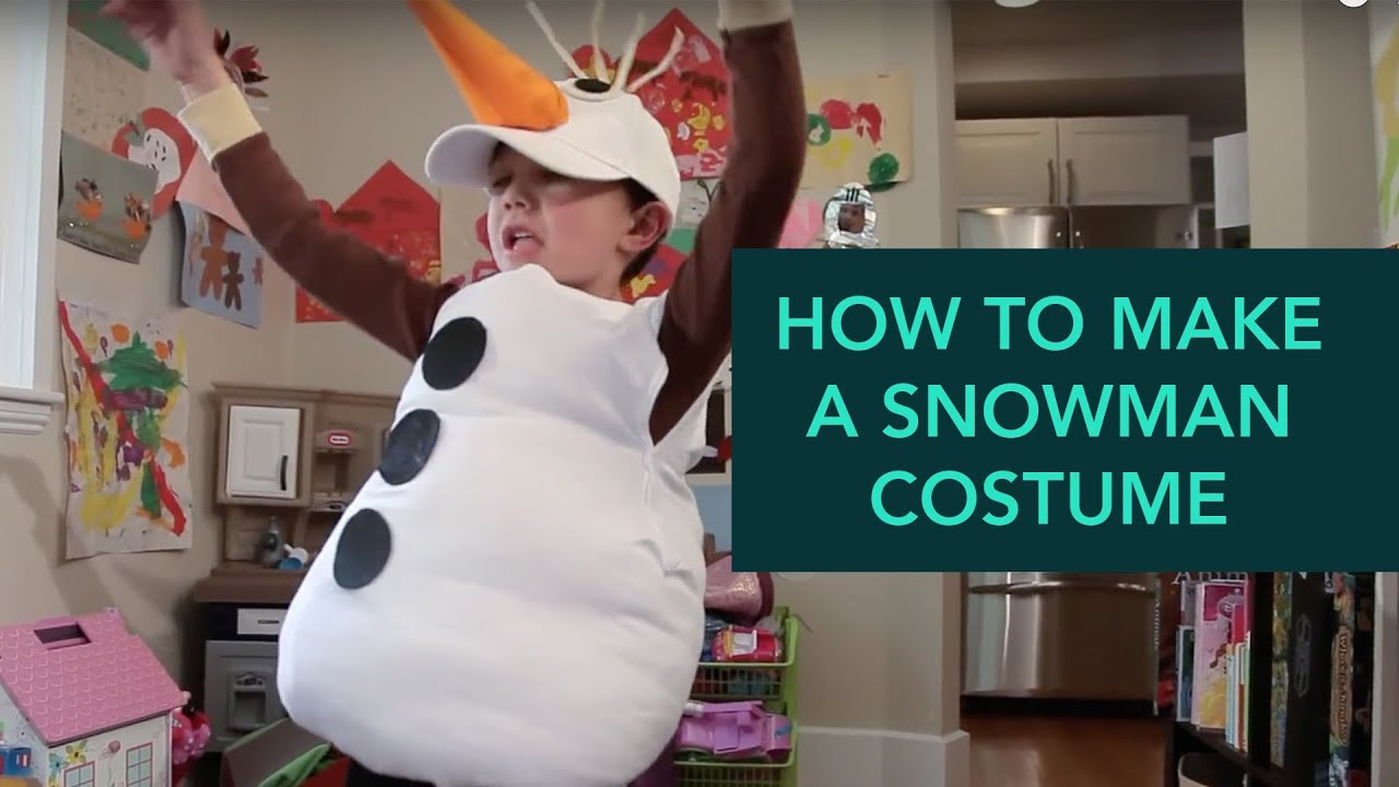 How to make a snowman costume easy diy halloween care youtube how to make a snowman costume easy diy halloween care solutioingenieria Image collections