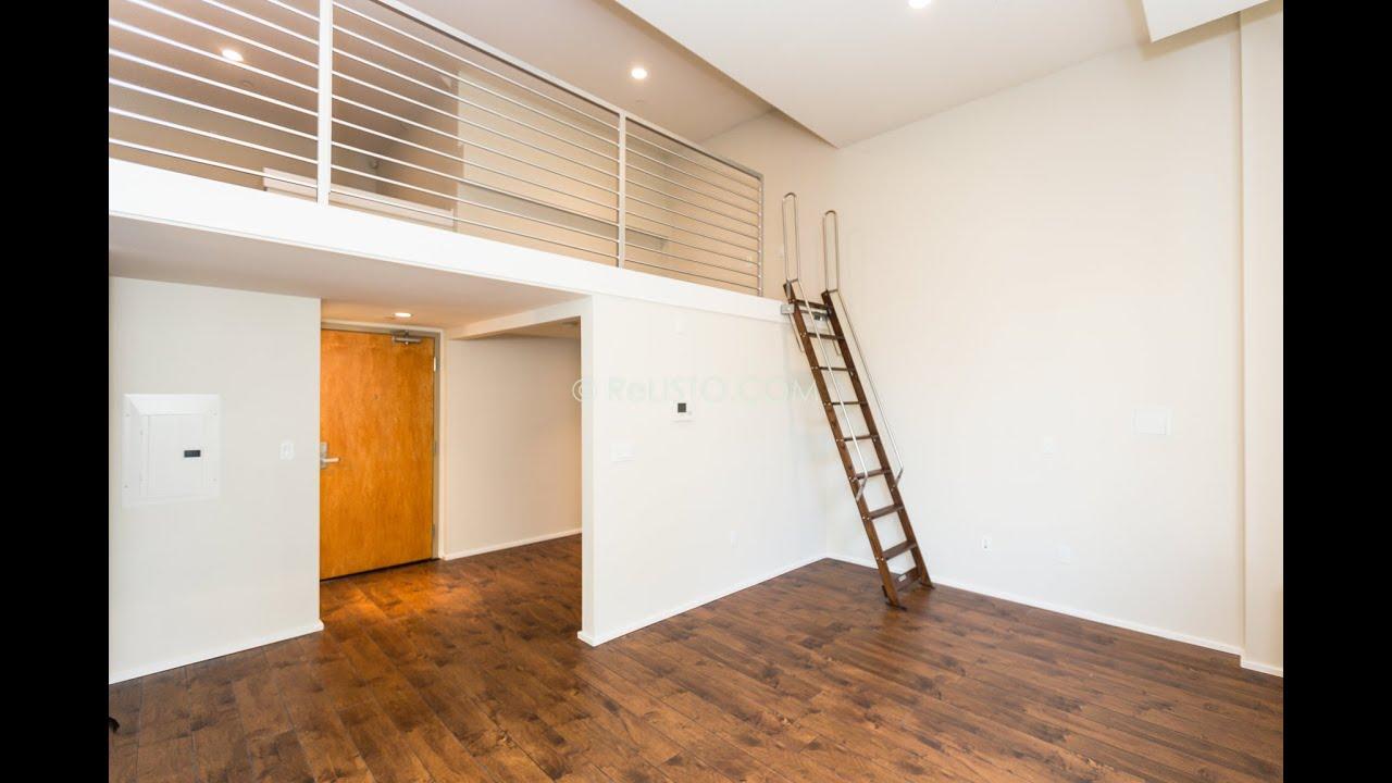 Stevenson lofts 418 1 bedroom loft soma san francisco relisto youtube for Skylofts 1 bedroom loft suite