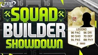 Squad Builder Showdown Legends Team!!! Top Eleven 2015
