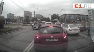 ДТП на перекрестке Амундсена и Объездной