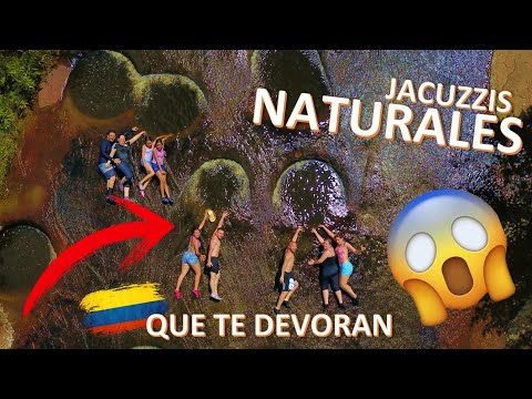 Las Gachas Guadalupe El Jacuzzi Natural mas lindo del Mundo