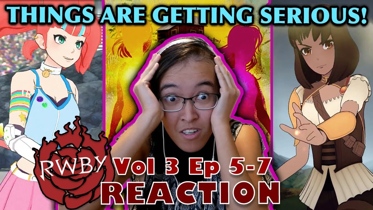 THIS EPISODE IS A TRAIN WRECK!! | Vol 3 Ep 5-7* | Kitty Reacts To: RWBY