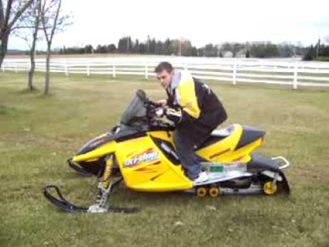 2003 Ski Doo Mxz Rev 600 Ho Youtube
