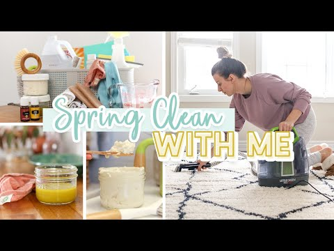 SPRING CLEANING ROUTINE 2020 + DIY Non-Toxic Recipes!