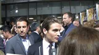 Actor Kevin Zegers at The Mortal Instruments: City of Bones Premiere