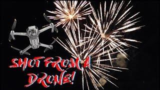 Flying a DJI Mavic Pro Through HUNDREDS of Fireworks!