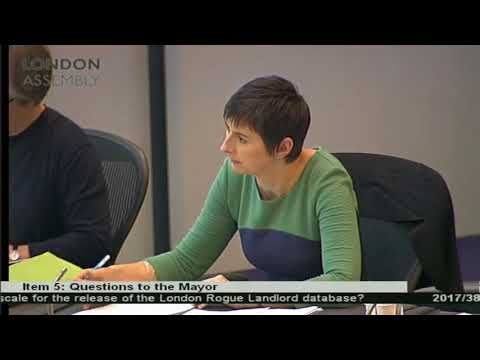 Caroline Pidgeon pushes Mayor to improve fire safety for renters