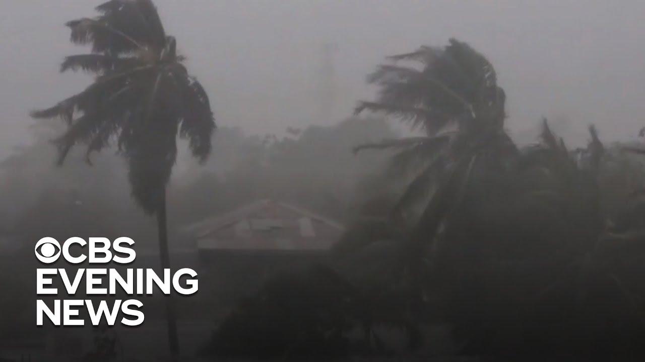 Tropical Storm Eta lashing South Florida