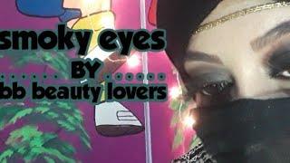 #comment créer noir smoky eye makeup#bb beauté aime