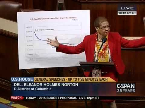 Norton Calls for DC Statehood on House Floor, in Advance of DC Emancipation Day