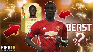 FIFA 18 BAILLY REVIEW | IS 84 OVR ERIC BAILLY A BEAST? | FIFA 18 ULTIMATE TEAM