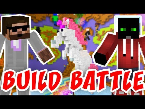 ŽIVOTNÍ STAVBA!!! | Minecraft Build Battle | Pedro a Marwex