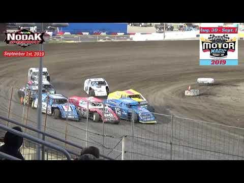 Nodak Speedway IMCA Modified Heats (Motor Magic Night #3) (9/1/19)