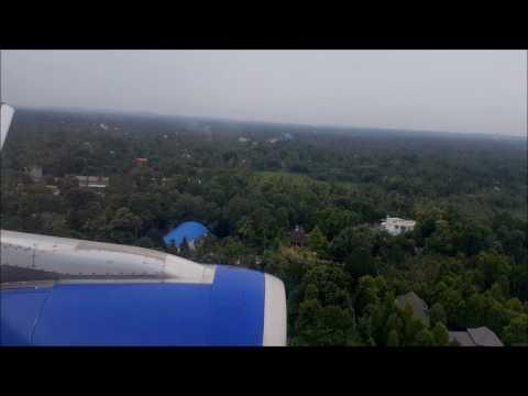 Scenic Landing at Kochi / Cochin Airport - COK