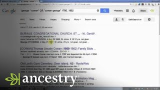 Googling Your Family History