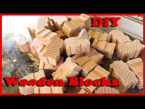 Making Interlocking Wooden Toy Blocks   Part 2