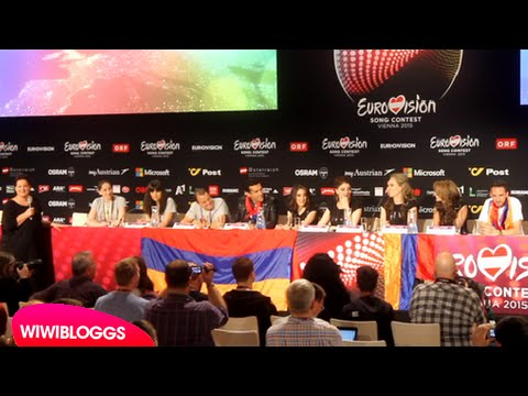 Eurovision Press Conference: Armenia Genealogy | wiwibloggs