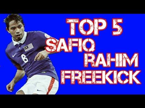 Top 5 Safiq Rahim Freekick