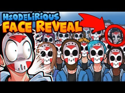 THE REAL H2O DELIRIOUS FACE REVEAL!