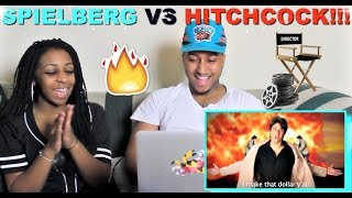 "Epic Rap Battles of History ""Steven Spielberg vs Alfred Hitchcock"" Reaction!!!"