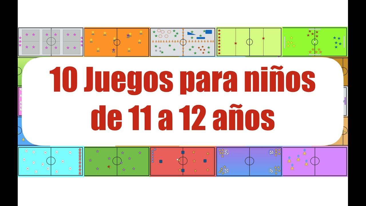 10 Juegos Para Ninos De 11 A 12 Anos Juegos Educacion Fisica Youtube