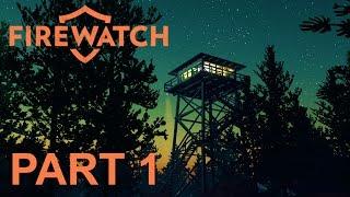 Firewatch Walkthrough Gameplay Part 1 - Me & My GF In The Woods!! (Facecam 1080p 60fps)