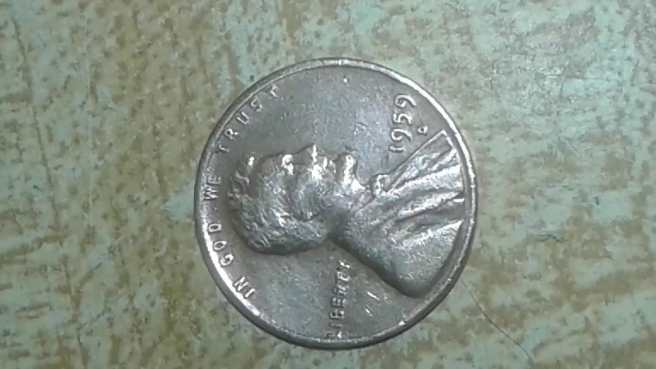 1959 D Penny found in good shape