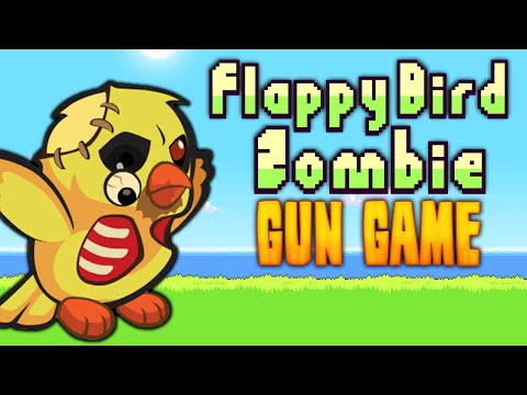 FLAPPY BIRD: ZOMBIE GUN GAME ★ Call of Duty Zombies Mod