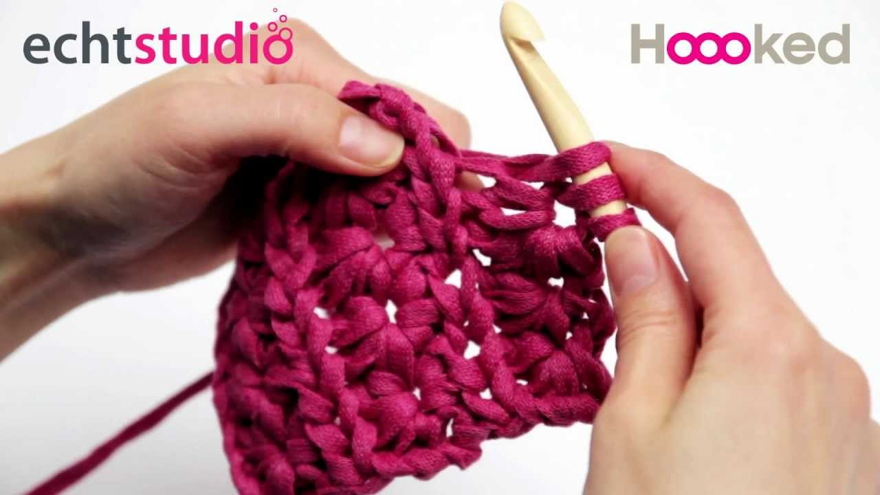 How To Crochet Star Stitch Youtube