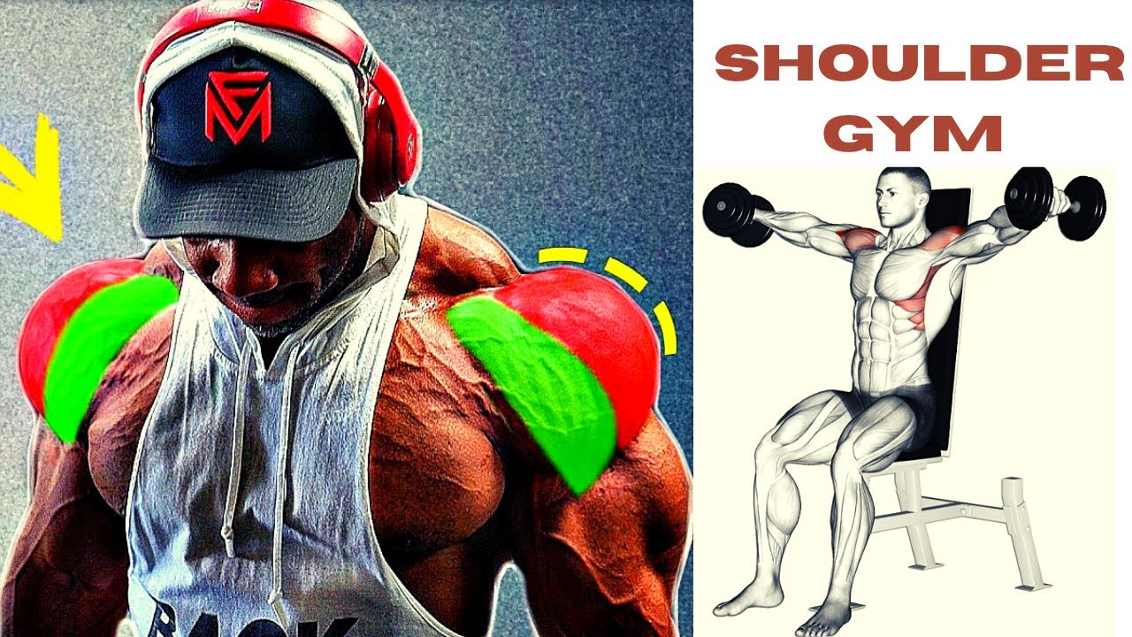 SHOULDERS WORKOUT / 5 meilleurs exercises musculation épaules
