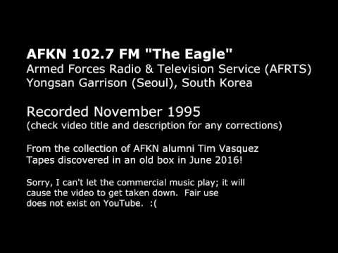 AFKN The Eagle FM - Yongsan Korea - 1995