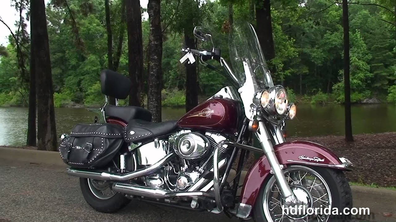 used 2008 harley davidson heritage softail classic motorcycles for sale youtube. Black Bedroom Furniture Sets. Home Design Ideas