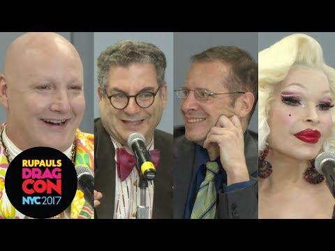 Amanda Lepore, James St James, Michael Musto & John Simone at RuPaul's DragCon NYC 2017