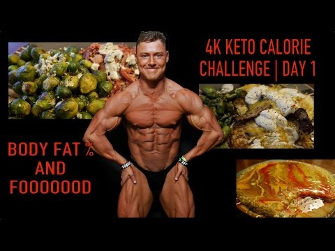 4k-keto-calorie-challenge-|-day-1-|-body-fat-%-and-stats