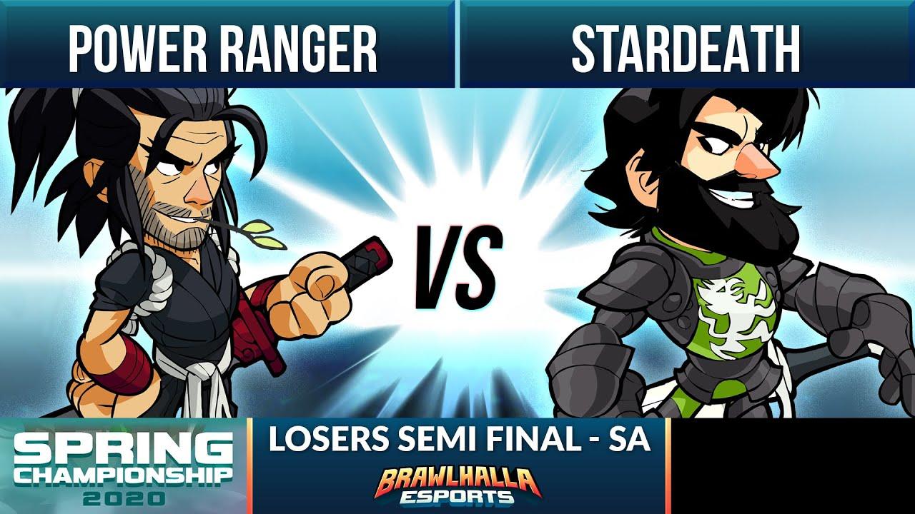 Stardeath vs Power Ranger - Losers Semi Final - Spring Championship 2020 - SA 1v1