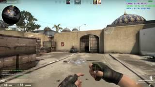 Counter Strike GO- FPS Test- AMD Phenom II x4 940 + HD 7850