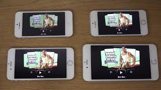 GTA San Andreas iPhone 6 Plus vs. iPhone 6 vs. iPhone 5S vs. iPhone 5 Gameplay Review