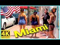 4K WALK Miami Beach 4k VIDEO South Beach Florida ...