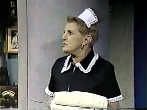 Letterman: Peggy the Foul-Mouthed Chambermaid's first appearance