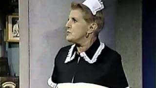 Repeat youtube video Letterman: Peggy the Foul-Mouthed Chambermaid's first appearance