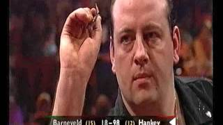van Barneveld vs Hankey Darts World Championship 2001 Quarter Final van Barneveld vs Hankey