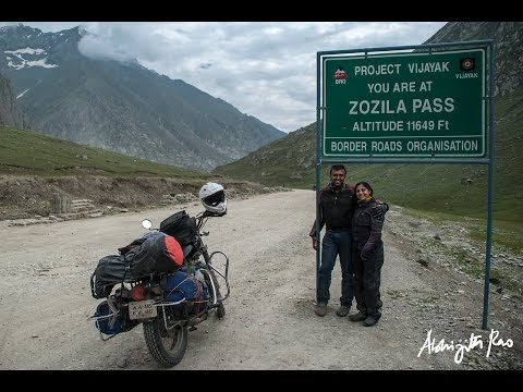 Kavitha and Abhijith - Couple on Wheels