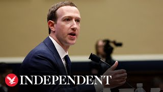 Watch Mark Zuckerberg as he's questioned in Congress about Facebook's cryptocurrency, Libra