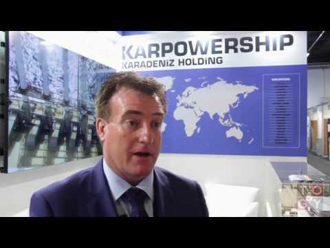 TOGY talks to Patrick O'Driscoll, sales director of Karadeniz Holding's Karpowership